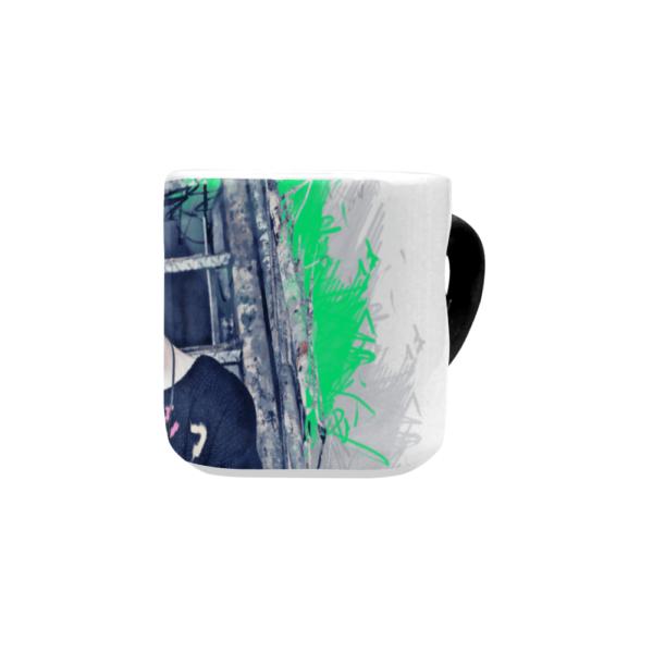 BTS Jimin Heart shaped Mug