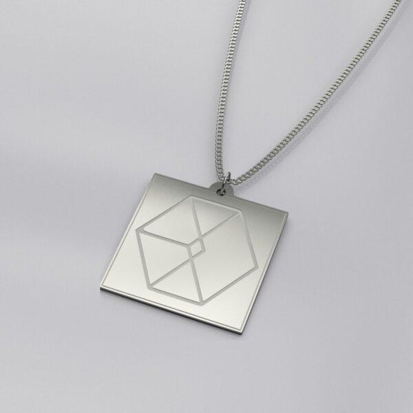EXO Logo Engraved Classy Necklace