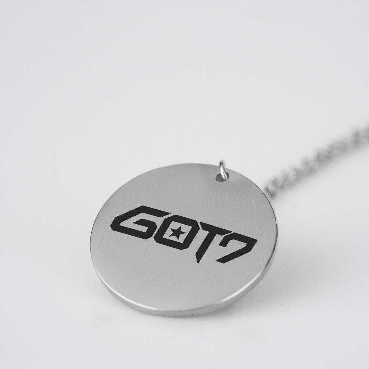GOT7 Kpop steel LONG NECKLACE NEW