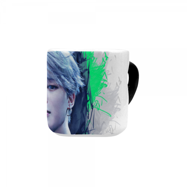 BTS Jimin Stylish Heart-shaped Mug