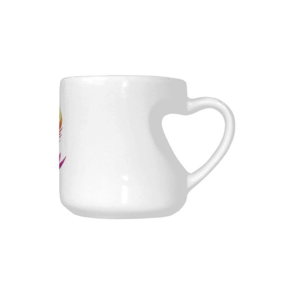 BTS Logo Heart-shaped Mug