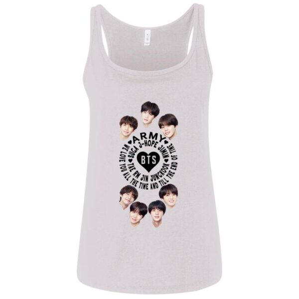 BTS Band Ladies Relaxed Tank