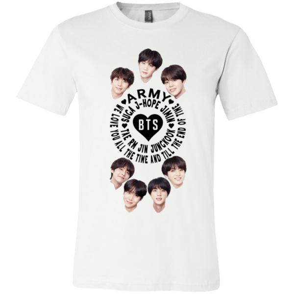 BTS Army Unisex Jersey T-Shirt