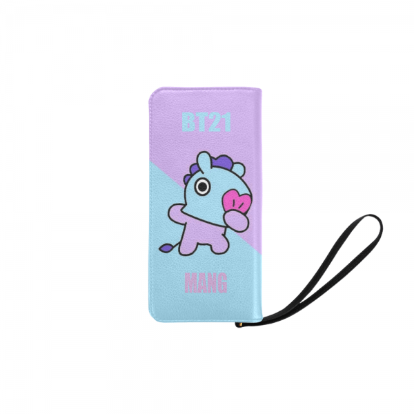 BT21 Mang Clutch Purse