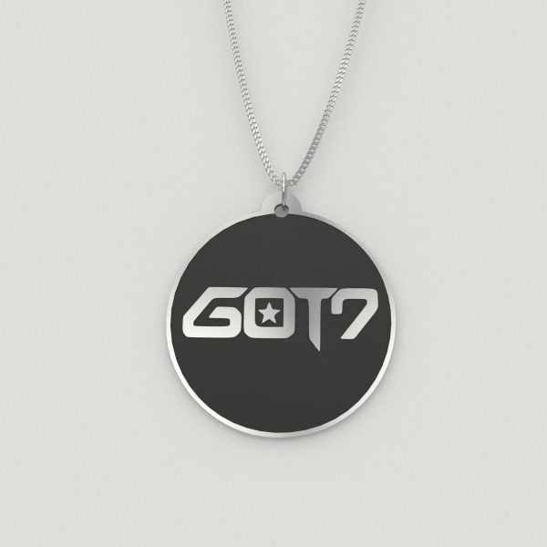 GOT7 Logo Casual Charm Necklace