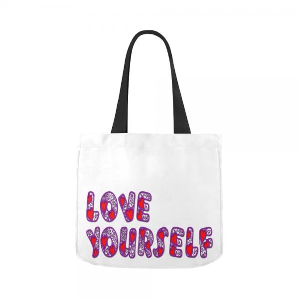 BTS Love Yourself Canvas Tote Bag