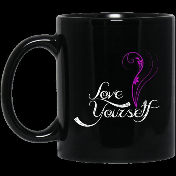 BTS Love Yourself Black Mug