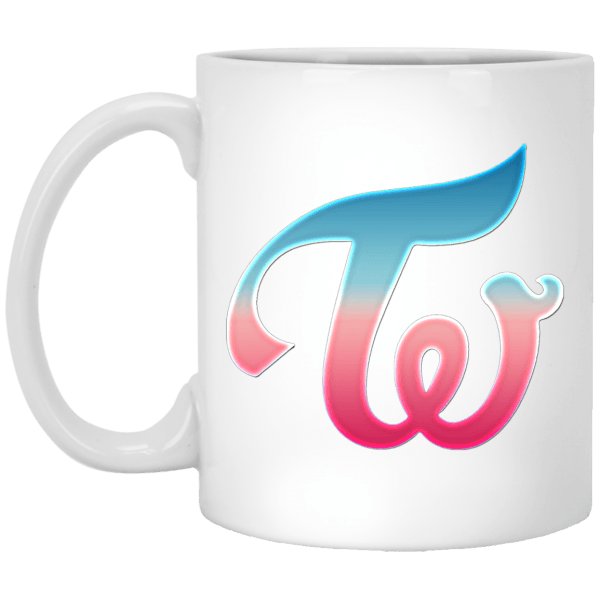 Beautiful Twice Logo White Mug