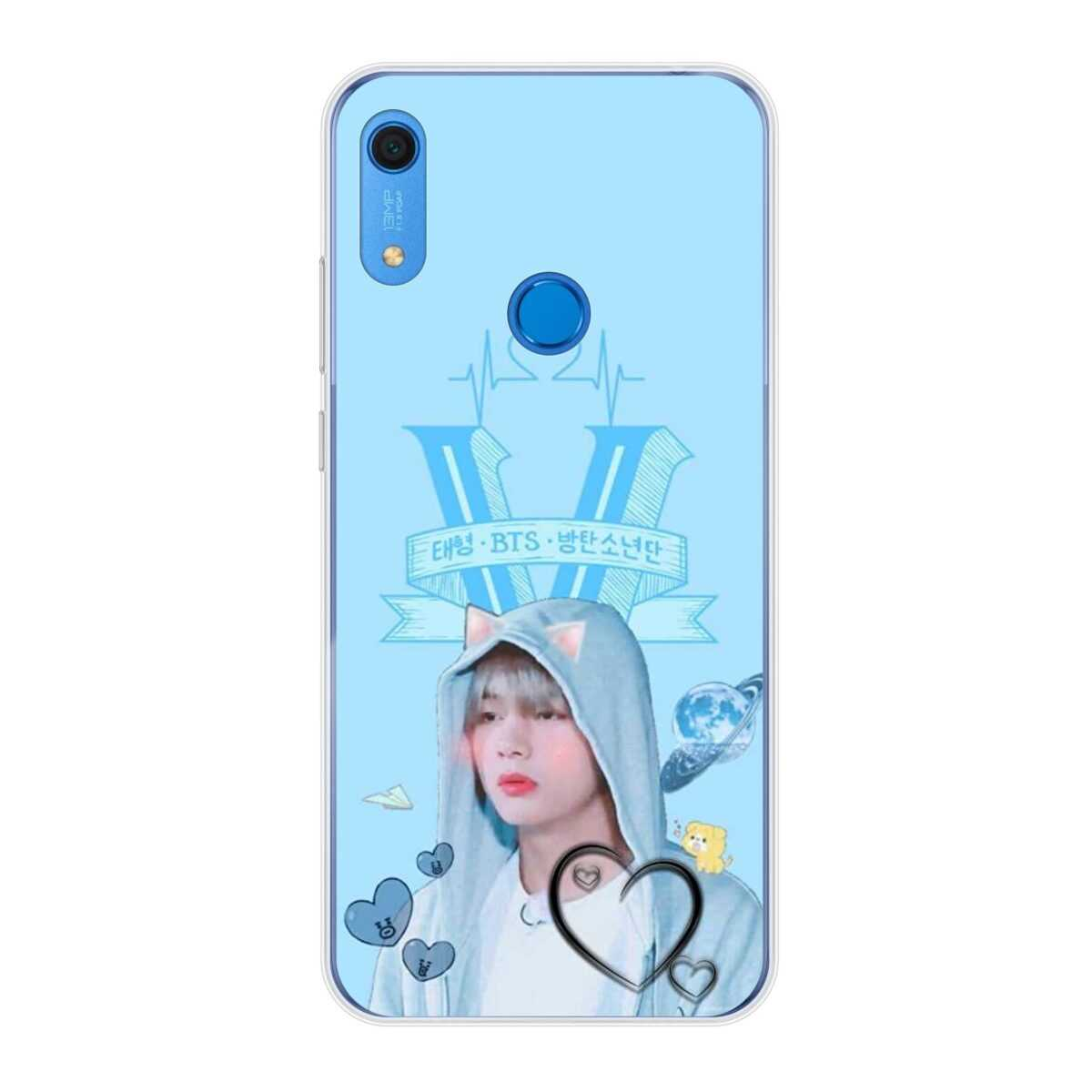 Trendy BTS Tae Huawei Mobile Cover