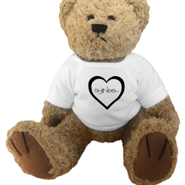 Shinee Logo Heart Teddy Bear