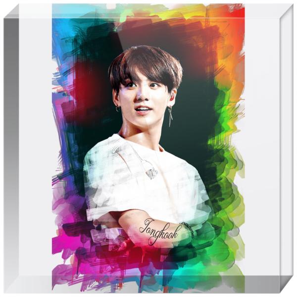 BTS Jungkook Acrylic Blocks